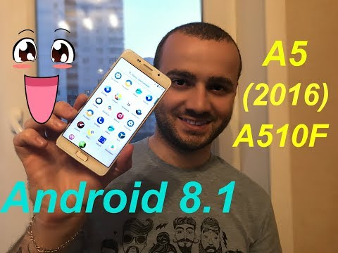 TWRP Recovery for Samsung Galaxy A5 SM-A520F with Android 8 0 Oreo