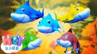 Bebé Tiburón   Las Mejores Canciones Infantiles   Mix | HeyKids