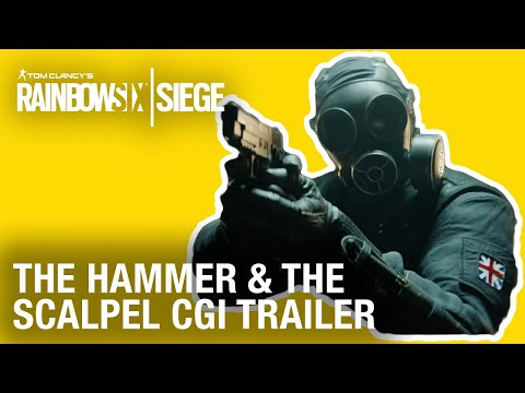 Rainbow Six Siege: The Hammer and the Scalpel | CGI Trailer | Ubisoft [NA] (видео)