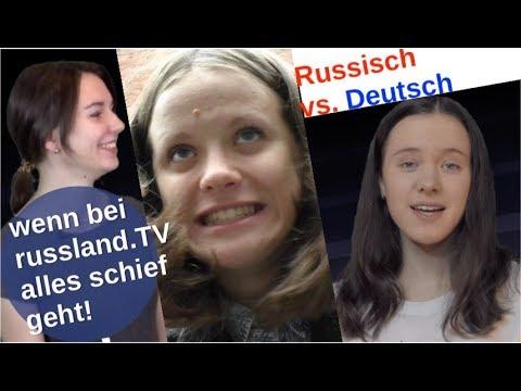 Wenn bei russland.TV alles schief läuft! [Video]
