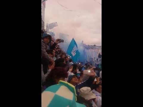 """""""Recibimiento atletico tucuman vs belgrano"""" Barra: La Inimitable • Club: Atlético Tucumán"""