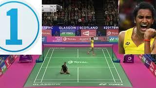 5 times when Sindhu amazed her opponent
