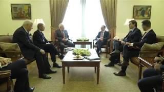 ԱԳ նախարարի պաշտոնակատար Զոհրաբ Մնացականյանի հանդիպումը ԵԱՀԿ Մինսկի խմբի համանախագահների հետ