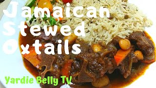 🔴How I Cook DELICIOUS Jamaican Stewed Oxtails😋😋😋