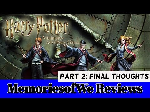 Review - Harry Potter Miniatures Adventure: Part 2 (Final Thoughts)