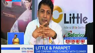 Little Cab in partnership with Parapet cleaning services to convert staff members into sales people