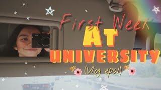 FIRST WEEK AT UNIVERSITY (VLOG 01) Video thumbnail