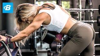 Cassandra Martin's Heavy Back Workout by Bodybuilding.com