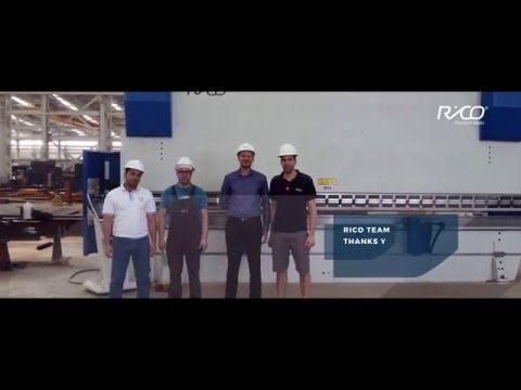 PRCB 6m 600 Ton - Instalacja prasy krawędziowej w AIC - zdjęcie