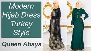 Top New Hijab Dresses Turkey Style Amazing Queen Abaya Designs For Islamic Girls | Umara Designer