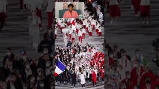 Which country had the worst olympic opening ceremony uniform? #shorts