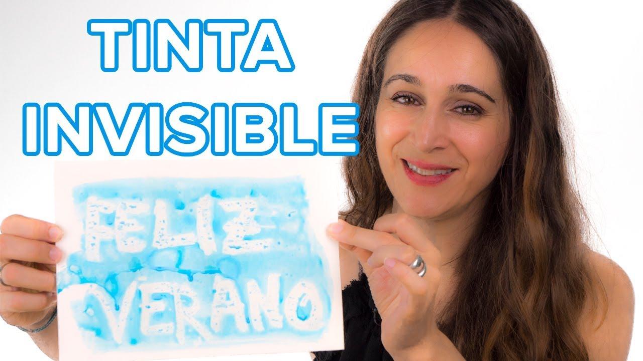 3 recetas caseras para crear tinta invisible | Experimentos para niños ????
