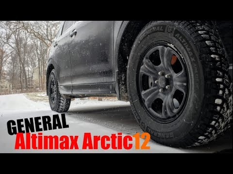 Snow Tire Review | General Altimax Arctic 12