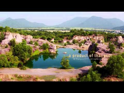 Vẻ đẹp thanh bình của miền đất An Giang qua góc nhìn từ trên cao