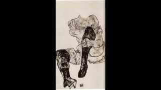 Antony and the Johnsons, Blue angel drawings Egon Schiele