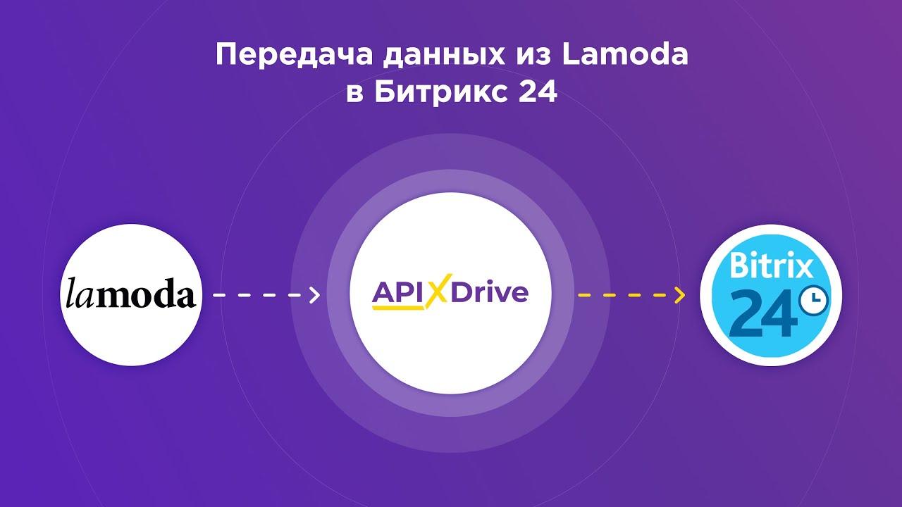 Как настроить выгрузку данных по заказам из Lamoda в виде лидов в Bitrix24?