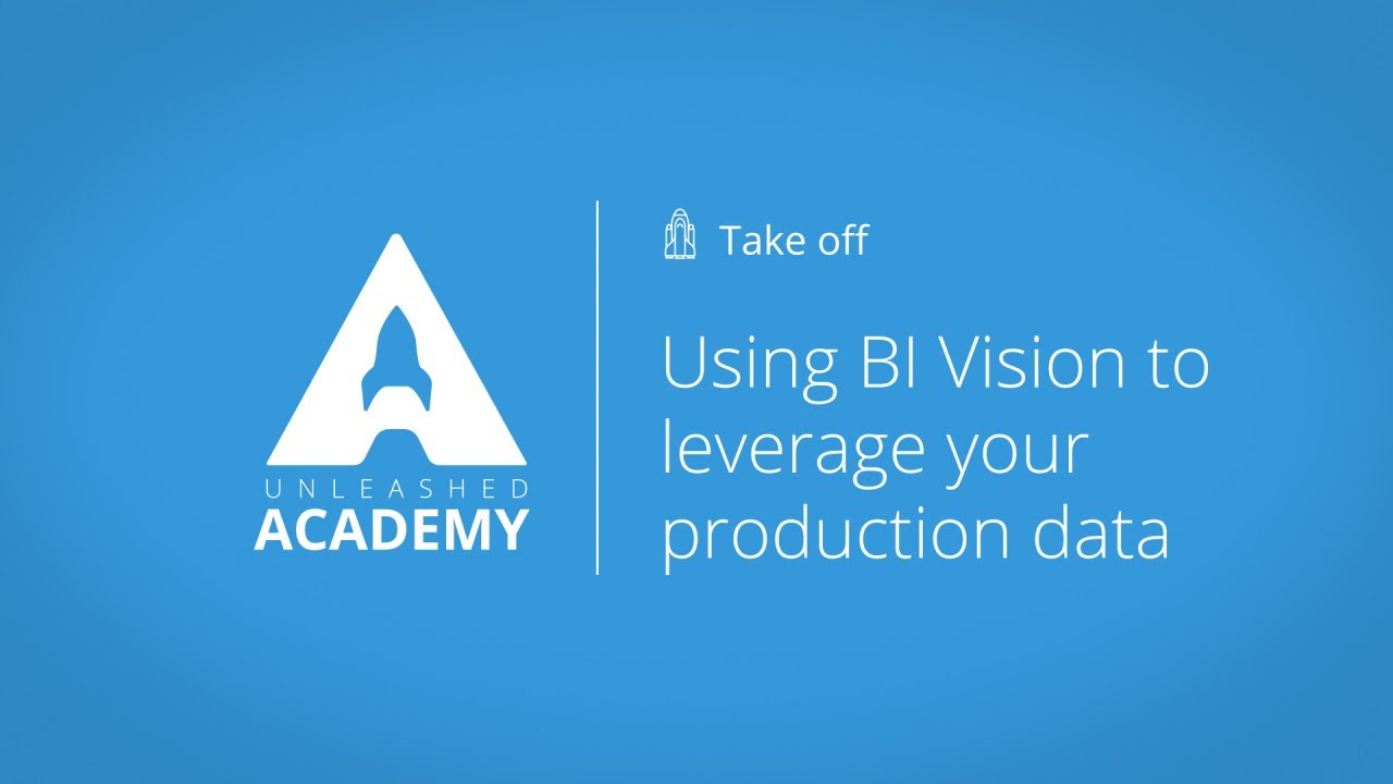 Using BI Vision to leverage your production data YouTube thumbnail image
