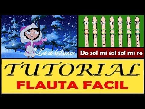 Let it Snow (Villancico) en Flauta