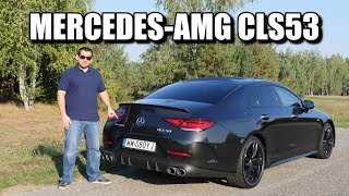 Gambar cover 2019 Mercedes-AMG CLS 53 (ENG) - Test Drive and Review