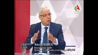 DERAMCHI Mohammed. Directeur Général de l' AGIRE – CANAL ALGERIE- » Question d'actu»