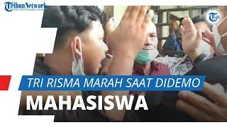 Tri Risma Marah saat Didemo Mahasiswa di Lombok Timur, Mensos: Tunjukkan Datanya, Jangan Fitnah