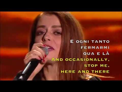 Annalisa - Le Rondini - Live 2018 (Lyrics translated on screen)