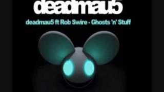"""♪Ghost """"n"""" Stuff- Deadmau5 Ft. Rob Swire [Song+Lyrics] [HQ]♪"""