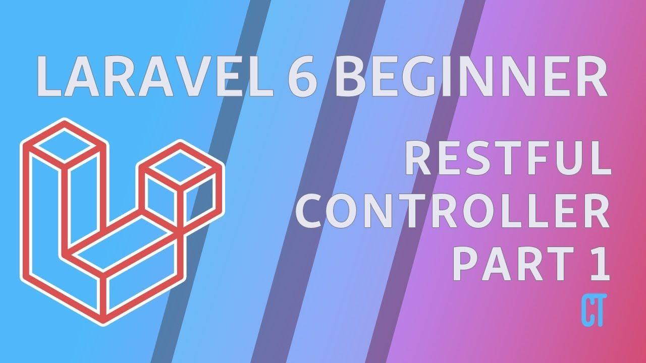 Cover image for the lesson by the title of RESTful Controllers Part 1