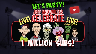 Had a great time live from YouTube to celebrate 1 million subscribers