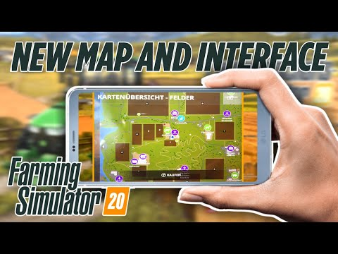 Farming Simulator 20 MAP and INTERFACE | Android, iOS and Nintendo Switch | Release | News
