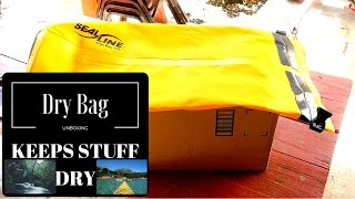 Leader Accessories Deluxe 40L Dry Bag unboxing | Vlog 96