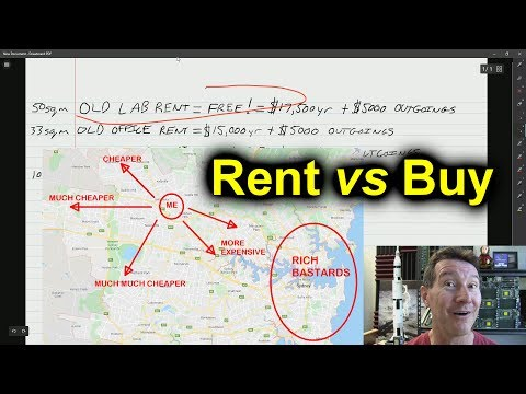 eevBLAB #66 - Renting vs Buying a Commercial Office Lab