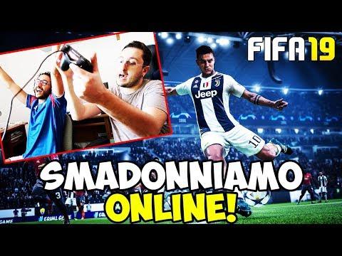 PROVIAMO LA NUOVA SQUADRA E SMAD0NNIAMO ONLINE!!! FIFA 19