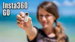 The SMALLEST Camera with Stabilization....Insta360 GO