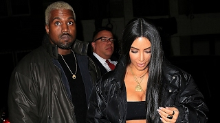 Kim Kardashian & Kanye West Celebrate Valentine's Day With LAVISH Gifts