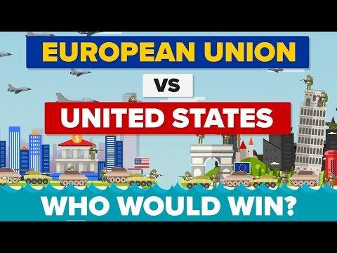 European Union vs The United States (EU vs USA) 2017 - Who Would Win - Army / Military Comparison