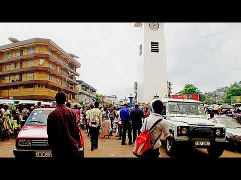 Sierra Leone Police And The Military At Clock Tower Roundabout Mp3