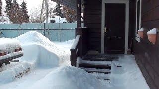 Снегопад. Зимние проблемы // Из города в деревню