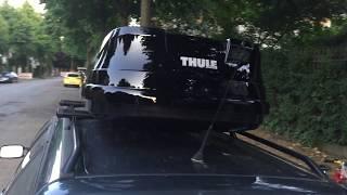 Ersteindruck: Thule Touring M Box - aktuelles Modell 2017