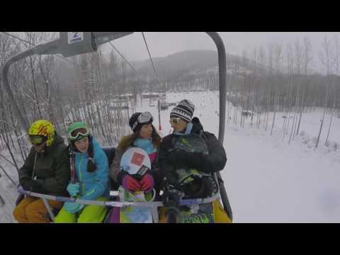 Видео: Видео горнолыжного курорта Красная Глинка в Самарская область