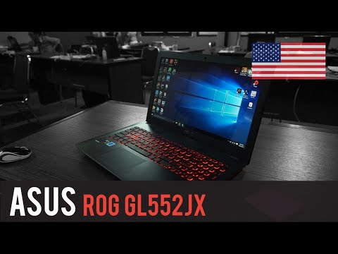 Review | Asus ROG GL552JX - English