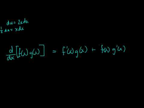 Calculus II/Calc BC Introduction to Integration by Parts