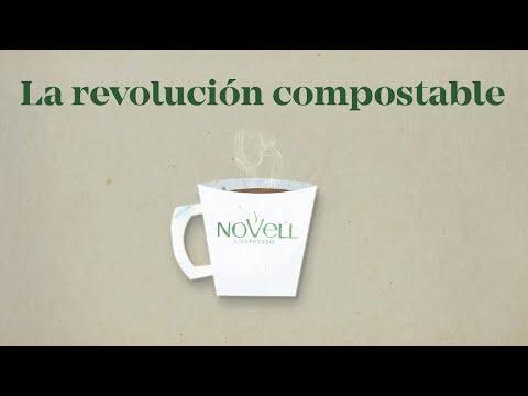 Cápsulas compostables de café descafeinado para nespresso Novell 10 unidades