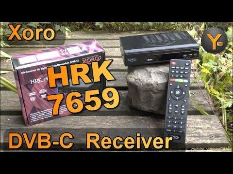 Unboxing & Einrichtung: Xoro HRK 7659 / DVB-C Kabel HDTV-Receiver mit HDMI/SCART/USB/LAN/1080p