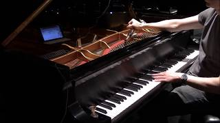 Concert piano tuning demonstration with before and after musical examples