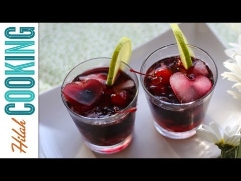 Video Vodka Cherry Limeade! Hilah Cooking
