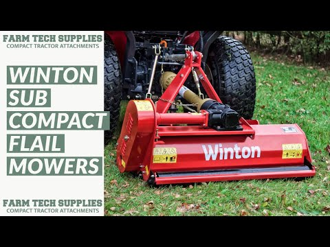 WCF85 - Winton Compact Flail Mower - 0 85m Wide - For