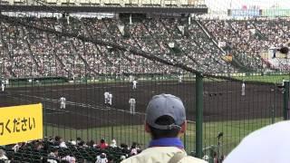 2011年夏甲子園 関西vs九州国際大付属 関西応援スパニッシュフィーバー