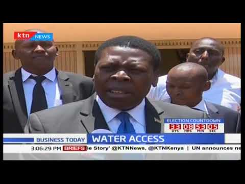 Nyeri water and sewage company commended for being the best water company in Kenya