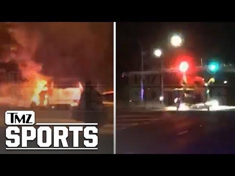 NFL's Cedric Benson Dies In Motorcycle vs. Minivan Crash at Age 36 | TMZ Sports